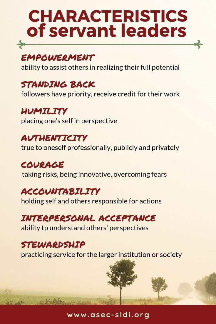 8 Characteristics of Servant Leaders (with examples and quotes)