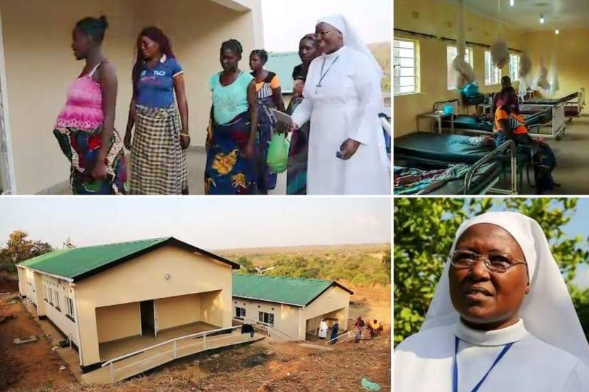 Sr. Asperanza wrote a successful proposal enabling the construction of both a maternity wing and a mother's shelter at Minga Mission Hospital in Zambia.