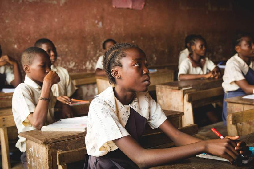 90% of the children attending the school where Sr. Mary Mukuha, FMI ministers did not have a desk. A lack of basic facilities, such as desks, contributes to an inability to facilitate effective learning.