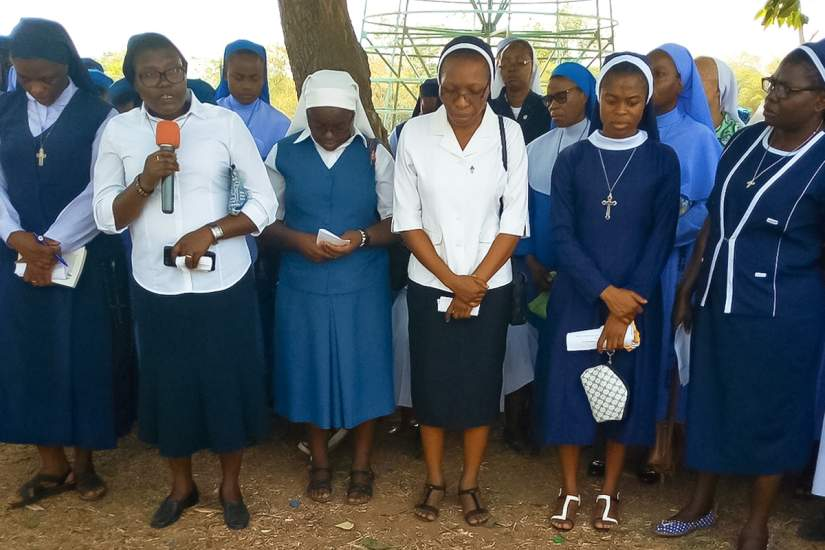 Women Religious pray for national security