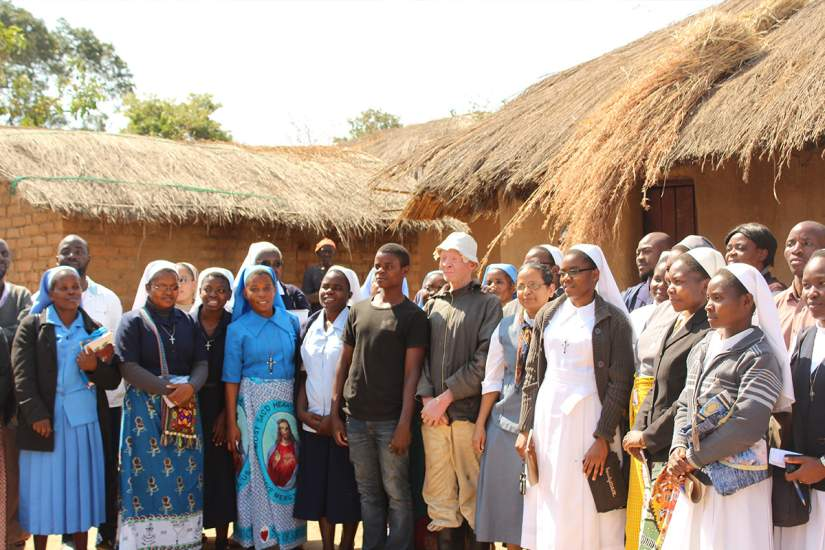 Malawian sisters visiting Alubino in Mtendere (July 2017)