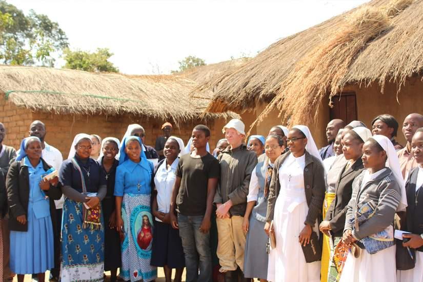 Malawian sisters visiting Alubino in Mtendere (July 2017)