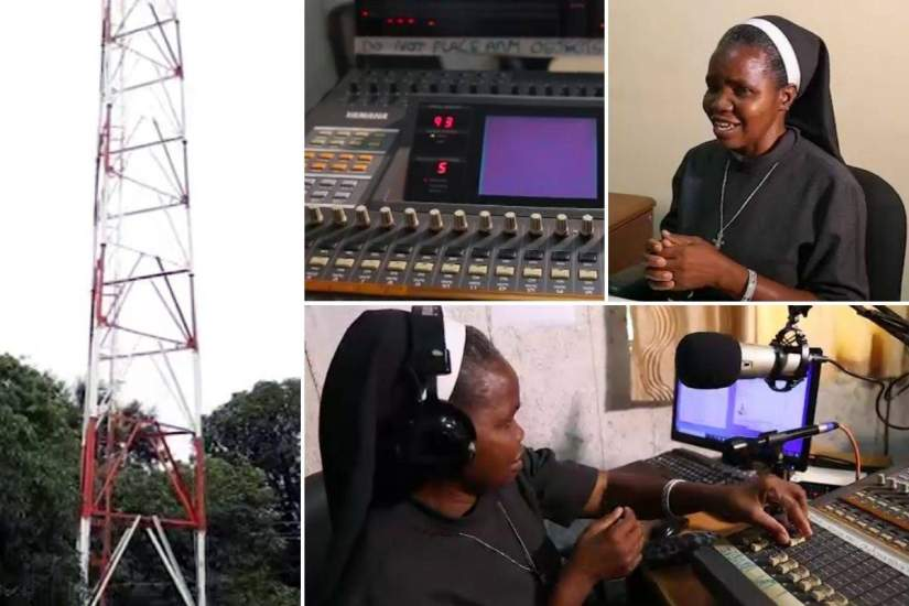 In Zambia, Sr. Perpetual started a radio program to promote culture and local artists in Livingstone and the surrounding area. The response was overwhelming! Over 100 young people have registered and community performances are held every Thursday on the radio.