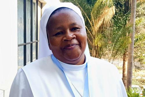 Sr. Jane Mwangi, Dimesse Sisters, Kenya (GSR photo / Melanie Lidman)