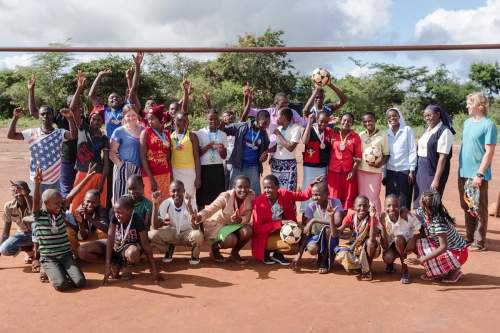 HESA student uses skills to help orphans in Kenya