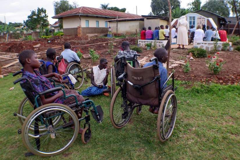 The Providence Home comprises of the physical and psychologically handicapped, orphans, the elderly, deaf, mentally ill and the blind. But they are happy, full of love and such a joy to be around. [Source]
