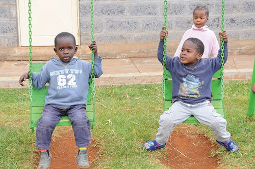 Cottolengo Centre for orphaned HIV positive children started in 1994, with the aim of taking care of vulnerable abandoned and  Orphaned children, who are either infected or affected by HIV+ in Nairobi. The Centre is managed by the Cottolengo Sisters in Kenya.