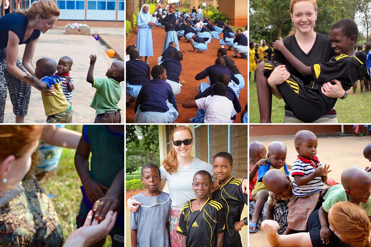 Volunteering in Tanzania through ASEC's Service Learning program changed her life.