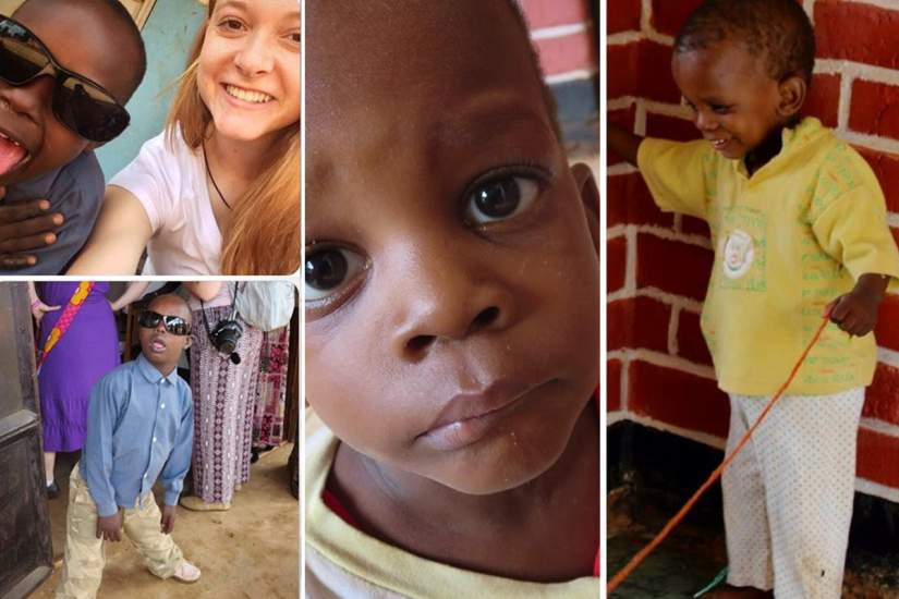 While visiting the Amani Center for Disabled Persons, Emily learned that disabled persons in Africa are not different from disabled persons in the United States.