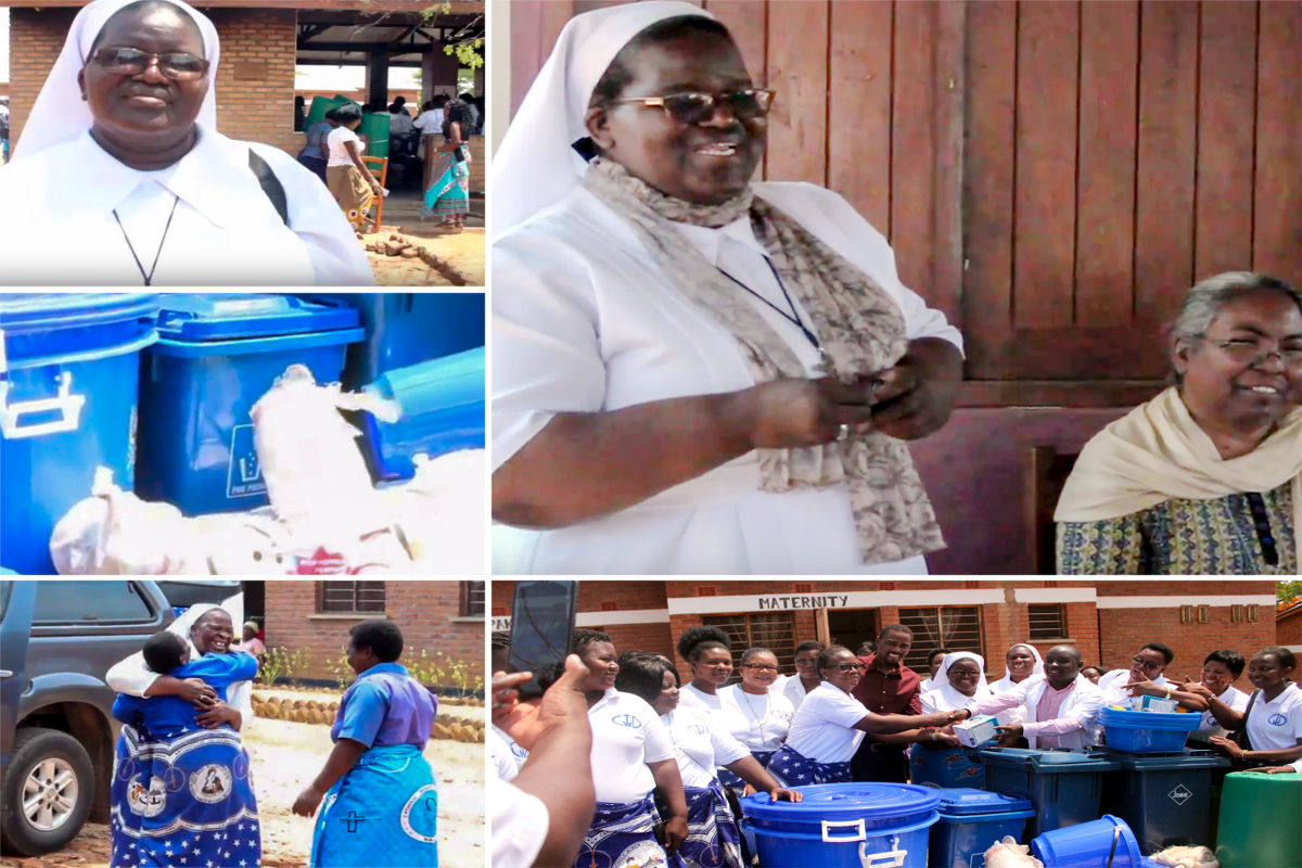 Sr. Magdalena used her interpersonal relation skills to acquire much needed items for Alinafe Community Hospital in Malawi. She was promoted to her position as Administrator of the hospital after completing ASEC's SLDI program in 2018.