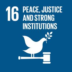 Promote just, peaceful and inclusive societies