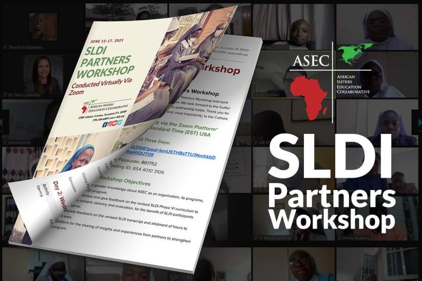 The Virtual SLDI Partners Workshop took place from June 15-17, 2021, with attendees logging in from the USA and the 10 African countries ASEC serves.