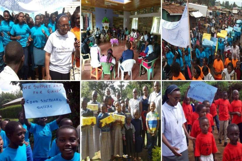 Sr. Lucy hosted seminars and processions through the local market to bring awareness to the practice of FGM. In time, girls had the courage to wear t-shirts reading,