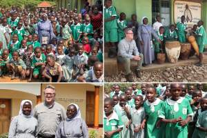 Nuns promoting holistic education at Kikyusa schools in Uganda