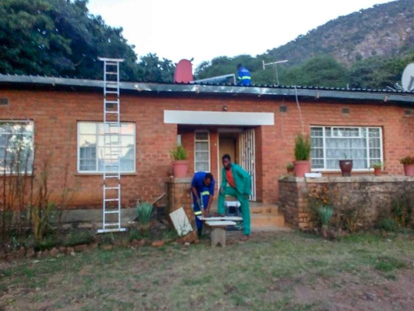 A solar power system was installed at Kasina Health Centre to prevent the constant power outages and improve patient services. The centre serves people in 72 surrounding Malawian villages.