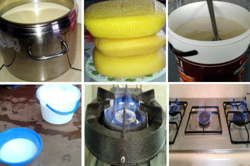 Products of the biogas project