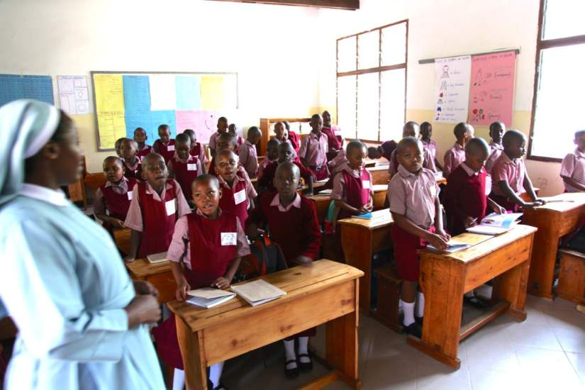 The grant will be used for education scholarships for Catholic Sisters in Africa; especially those working in fields related to healthcare and teaching.