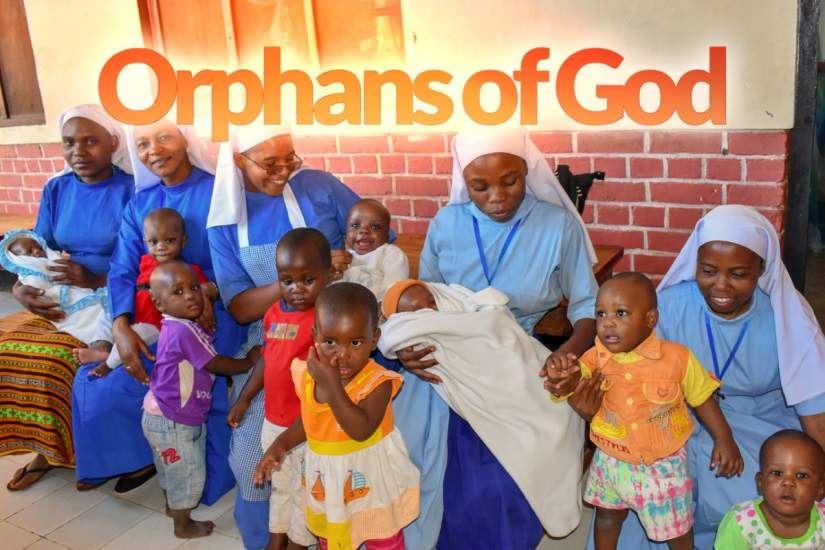 Immaculate Heart of Mary (CICM) Sisters caring for orphans at Mgolole Orphanage Centre in Morogoro, Tanzania.