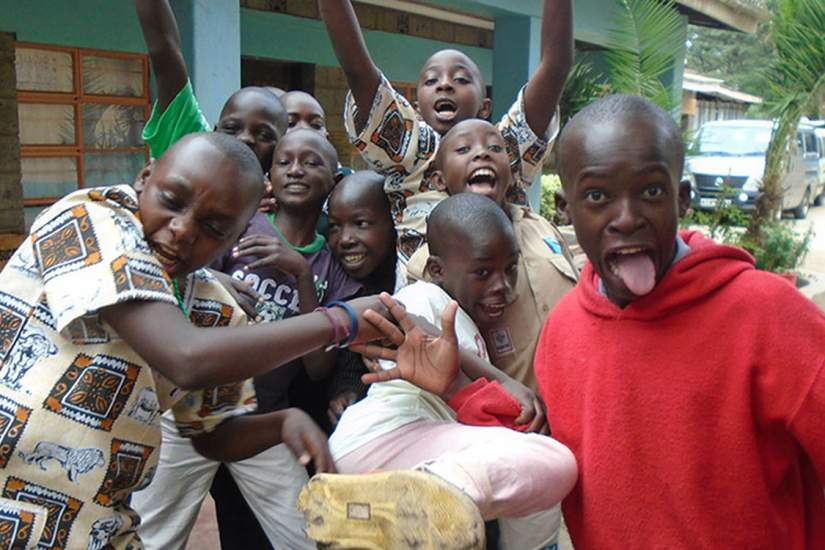 Rescued street boys are now getting a second chance at life because of Sr. Felistas and Kwetu Home of Peace in Nairobi, Kenya.