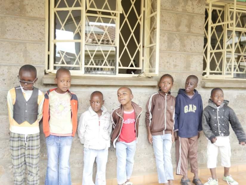 Cottolengo Centre for orphaned HIV positive children hosts about 85 orphans.