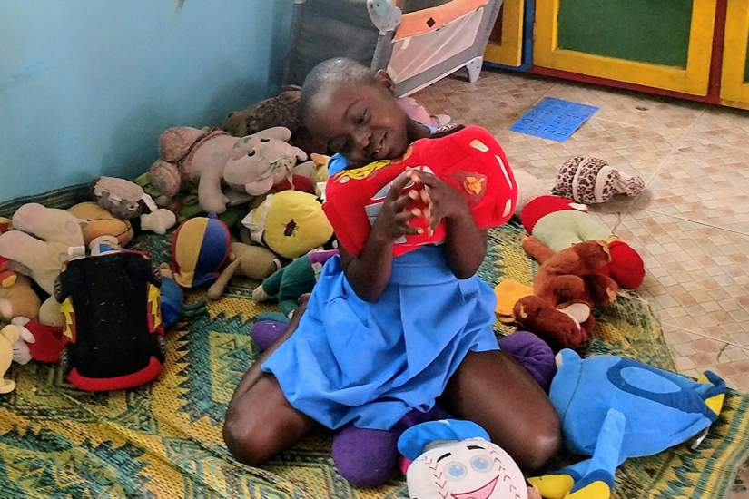 """HHCJ is doing so well in putting smiles on the faces of these children."