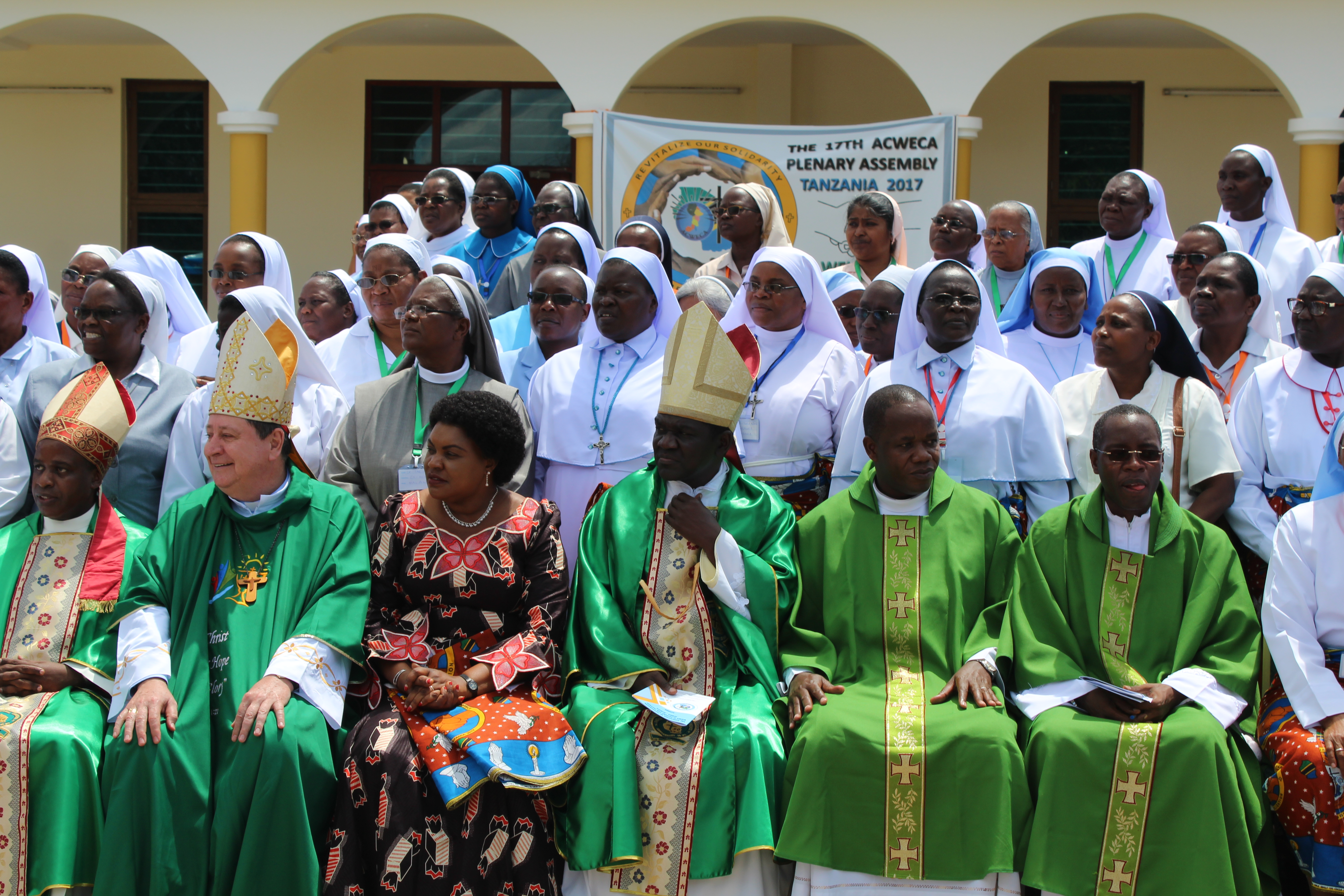 Group photo during ACWECA Plenary Assembly in Dar es Salaam, Tanzania.