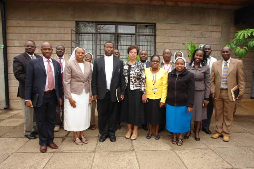 HESA progress review meeting at CUEA