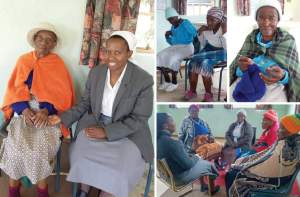 Field experience with the elderly affirms sister's passion for social work