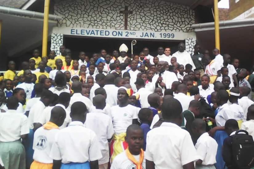 Participants of the Pontifical Missionary Children (PMC) children's program.