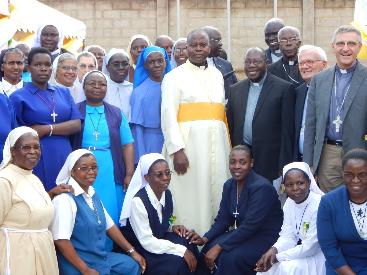 ARU launching of 50 years celebration of Bishops and religious men and women (November 8, 2017).