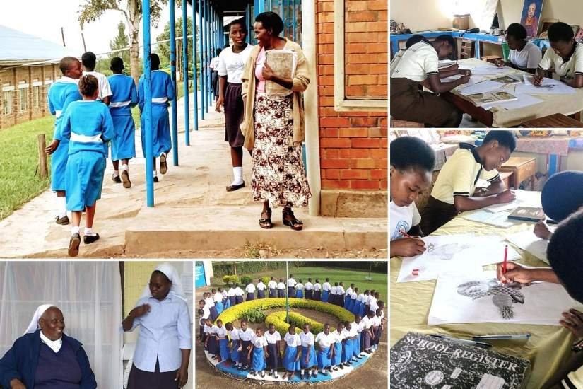 ASEC staff conducted a site visit to Boni Consilii Girls Vocational Secondary school in June, 2018, and were able to meet Sr. Lilian, Sr. Lucia and some of the girls who attend the school.