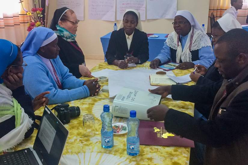 Members of ASEC's U.S. and Africa staff, SLDI workshop facilitators and Secretaries General of different associations of congregations were in attendance for the SLDI partners workshops held in June, 2018 in Ghana and Kenya.
