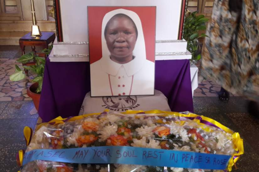Sr. Rose was laid to rest in Juba, South Sudan, on March 30, 2017. Sr. Lina Wanjiku, ASEC East African Director and Sr. Mary Germina Keneema, ASEC Uganda Director, attended on ASEC's behalf.