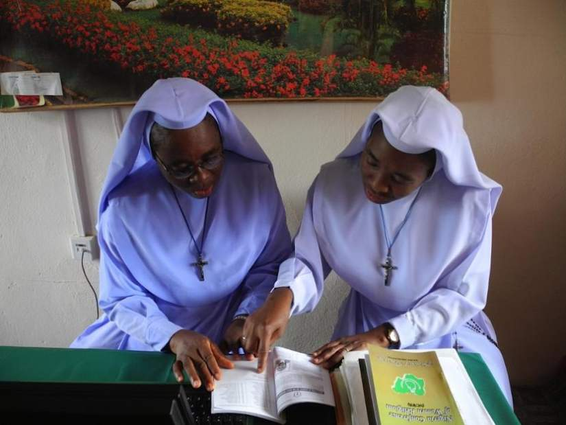 Handing the pen to African sisters