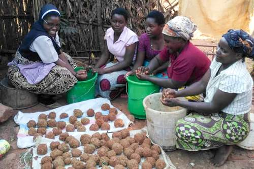 This sawdust briquette recipe solves a common problem for women in rural Africa