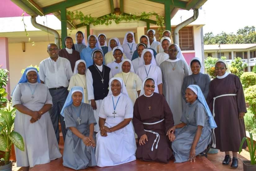 Scholarship recipients in Tanzania attend orientation (Mar. 2020).