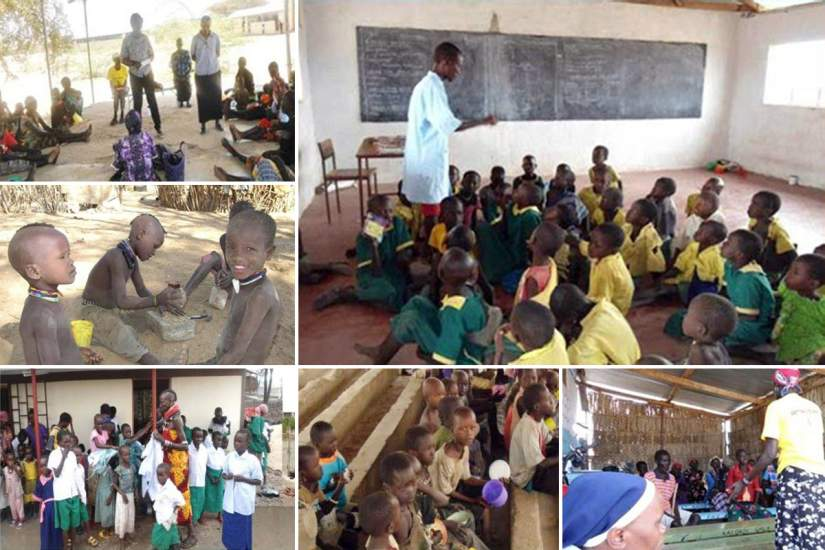 The main purpose of the HIV Positive and Orphaned/Vulnerable Children project is to advocate and care for children who are and are not born with HIV/AIDS. At the forefront of this work is SLDI alumna Sr. Patricia Kyambuu.