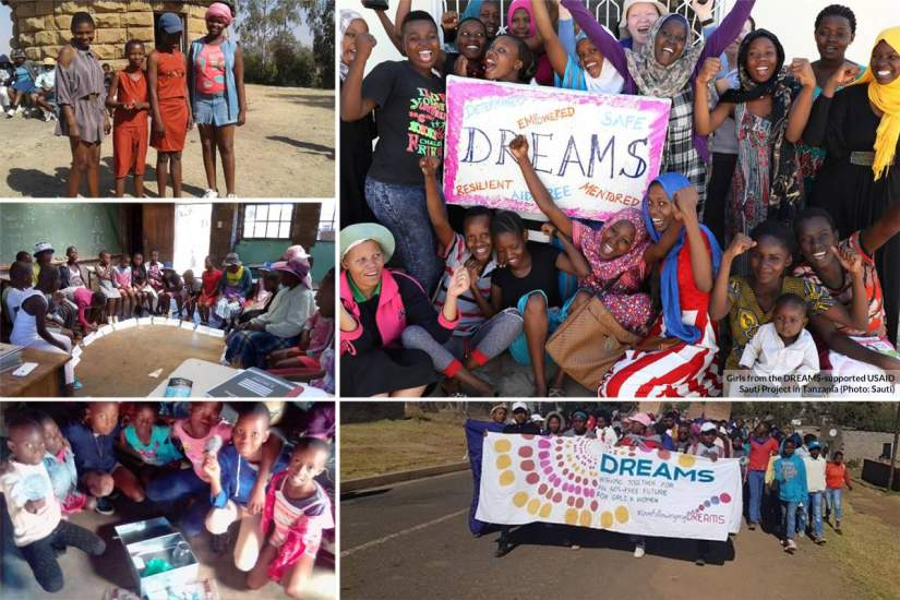 Determined, Resilient, Aids-Free, Mentored, Safe (DREAMS) project, is made possible through the collaboration of the Good Shepherd Sisters in Lesotho, USAID and Catholic Relief Services.