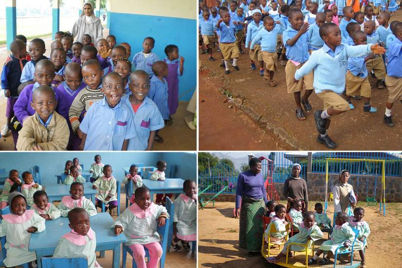 HESA Alumna Sr. Anne Kamene, ASN is the Director of Cheshire Home for girls with physical and mental disabilities in Lumuru, Kenya.