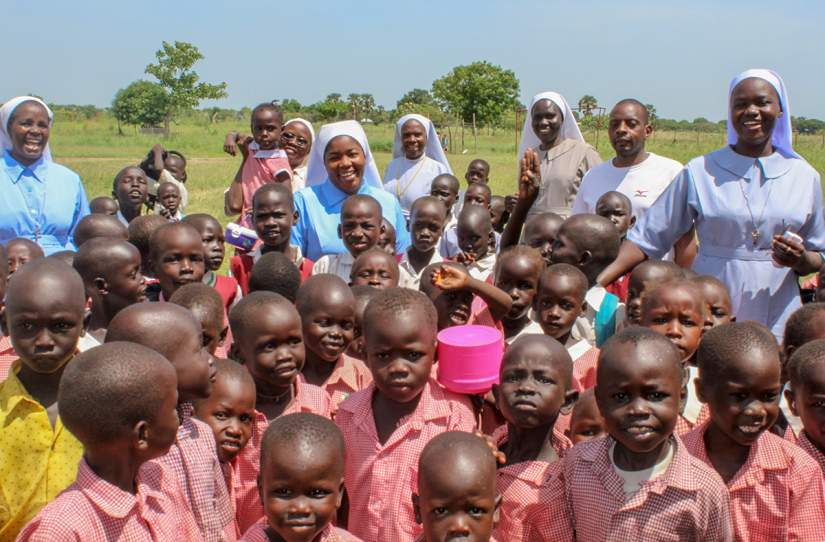 Catholic Nuns are serving in the poor and rural areas of Africa, where help is needed most.