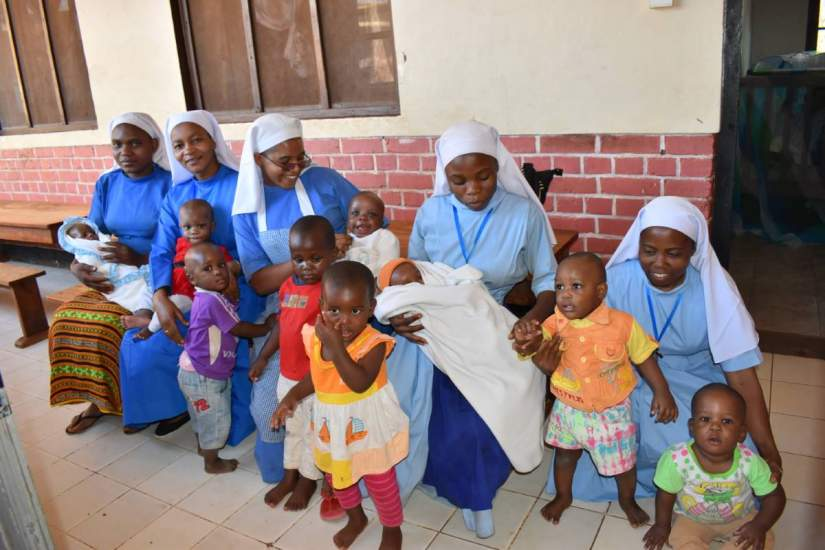 A number of sisters from both SLDI and HESA programs have used their education to help orphans throughout Africa. Pictured above are CICM sisters caring for the children at Mgolole Orphanage in Morogoro, Tanzania Read Orphans of God.