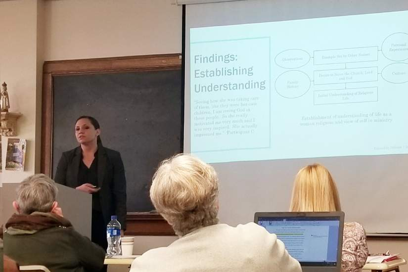 Tara Lopatofsky, Ph.D., CCLS, successfully defends her doctoral dissertation research on March 28, 2019 at Marywood University, Scranton, PA.