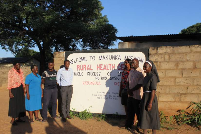 Makunka Health Centre is located in a rural region that lacks a proper network of roads, so the aim of this project is to bring quality services as close to the people as possible.