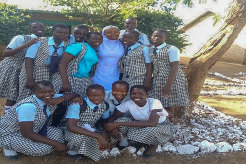 Sr. Lucy Chemutai Yego's new role as a school bursar was a challenge until she began ASEC's SLDI finance program.