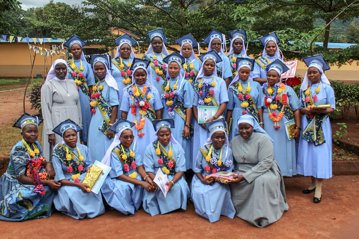 In 2018, 46 students graduated from Bigwa Seminary Secondary School in Tanzania. 29 of those students were able to graduate because of the ASEC two year Bigwa scholarship.