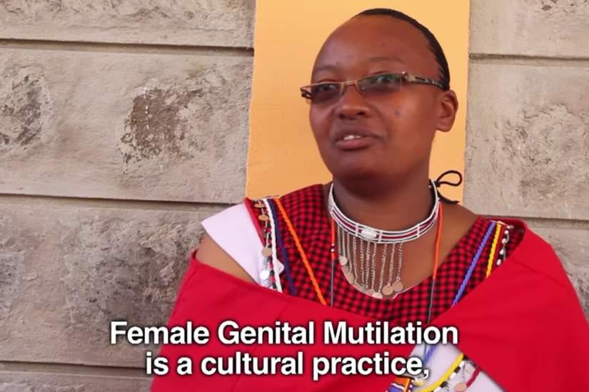 At Marie Adelaide Center in Enkang O'Selenken, women religious help Masai girls build different futures under the leadership of Directress Sr. Caroline Kimani, DHM.