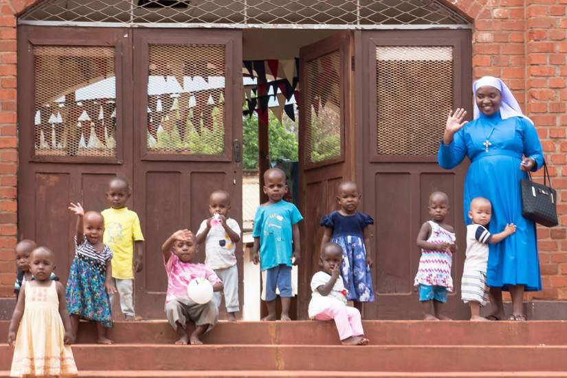 Mgolole Orphanage Center, Tanzania is run by the Immaculate Heart of Mary Sisters. It's known locally as