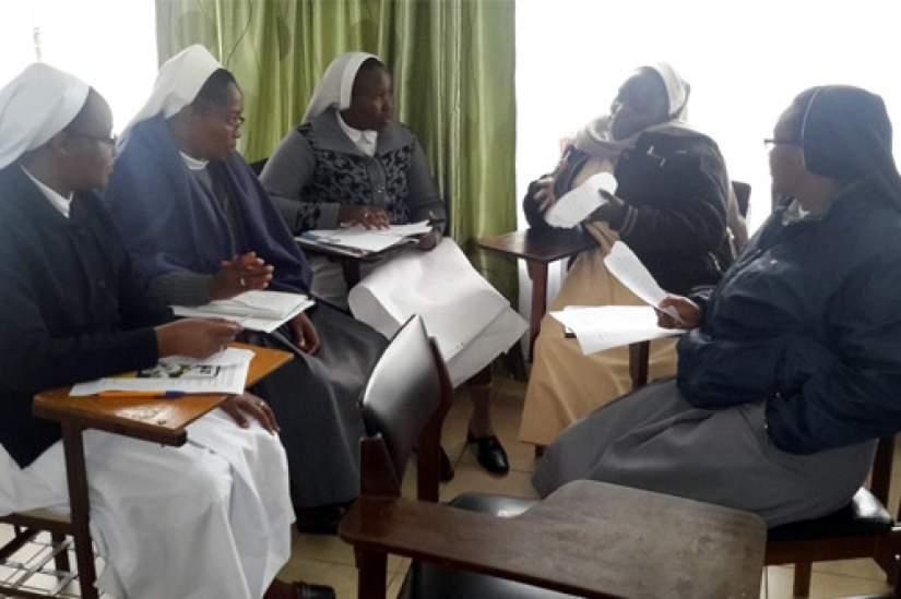 HESA Orientation for new students entering Chemchemi Ya Uzima Institute, Regina Pacis University, Tangaza University and Catholic University of Eastern Africa (CUEA), Fall 2016.