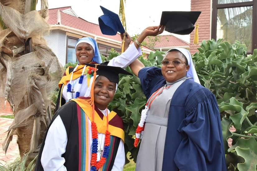 2019 HESA graduates, St. Augustine University College (SAUT), Tanzania.