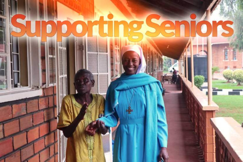 In Kampala, Uganda, the Good Samaritan Sisters care for the elderly, poor, destitute, disabled and neglected at Mapeera Bakateyamba Home for the Elderly and Sick.
